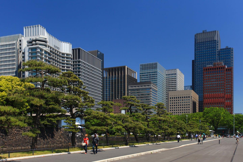 tokyo japan green buildings