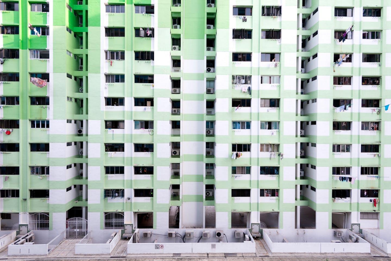green HDB flats Singapore
