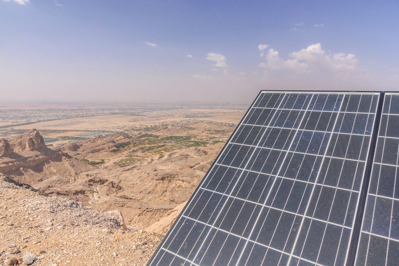 solar in desert
