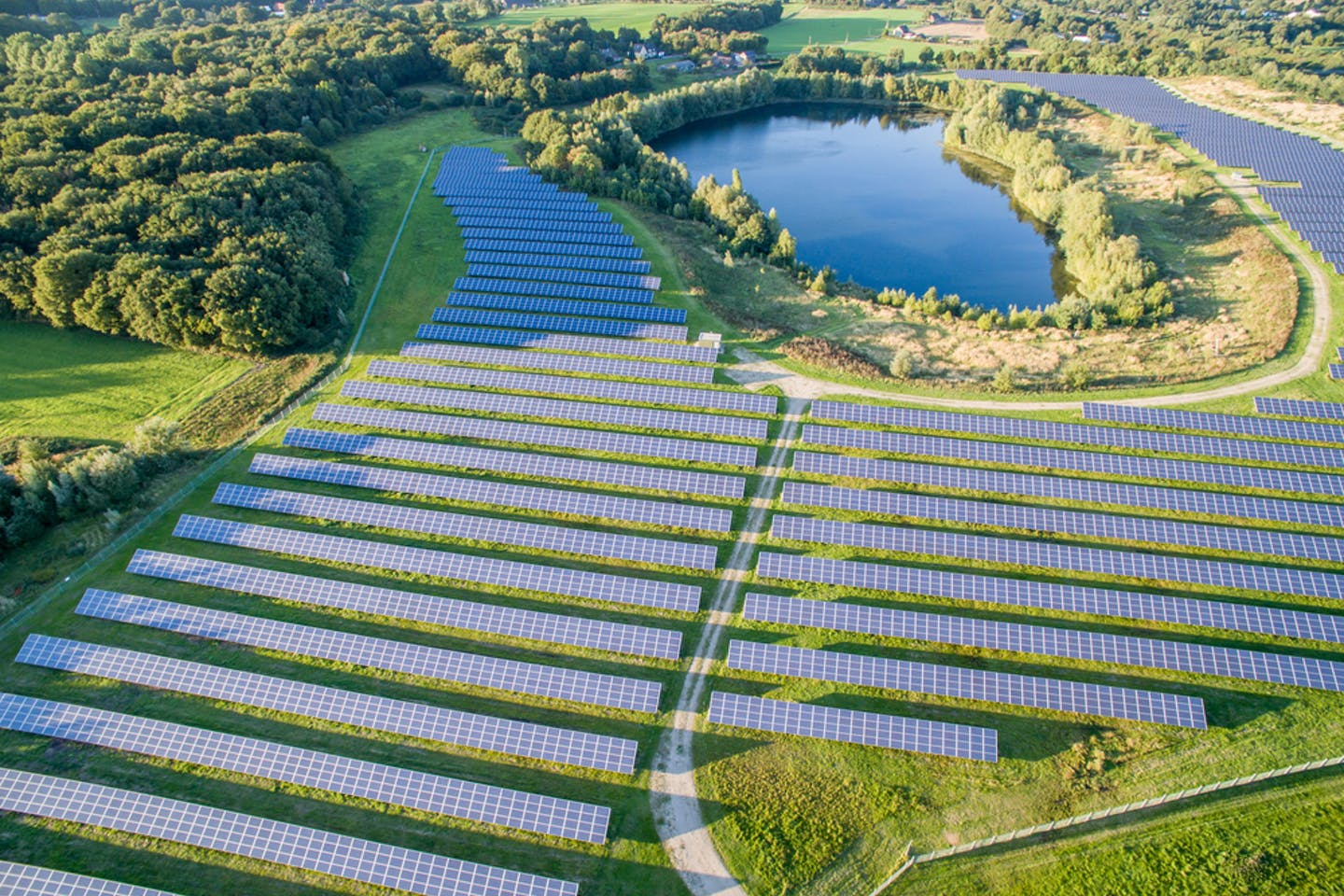 solar farm in neukirchen vluyn germany