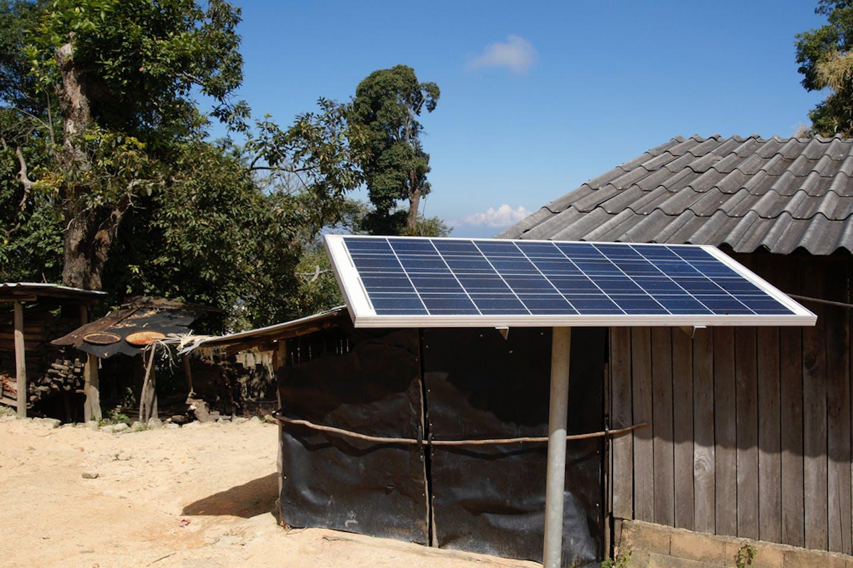 solar panels thailand roof