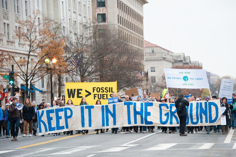 washington fossil fuel protests