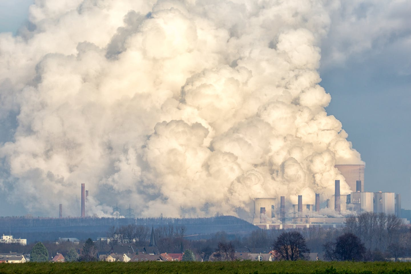 brown coal plant pollution