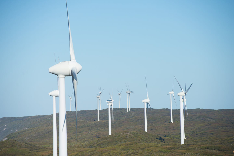 wind turbines western australia southern ocean