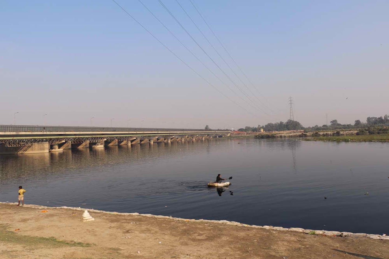 yamuna river delhi