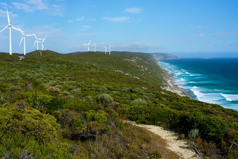 wind turbines western australia