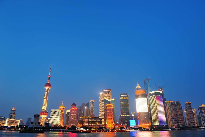 shanghai china night