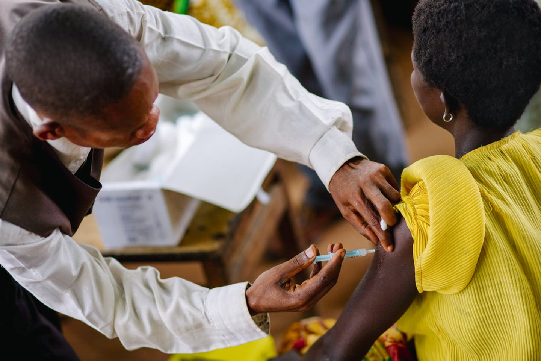 DRC vaccination tetanus