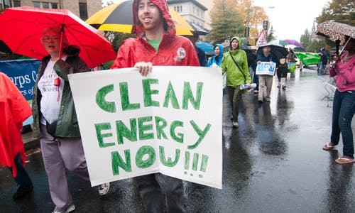 Climate code red: we need a quicker transition to renewables