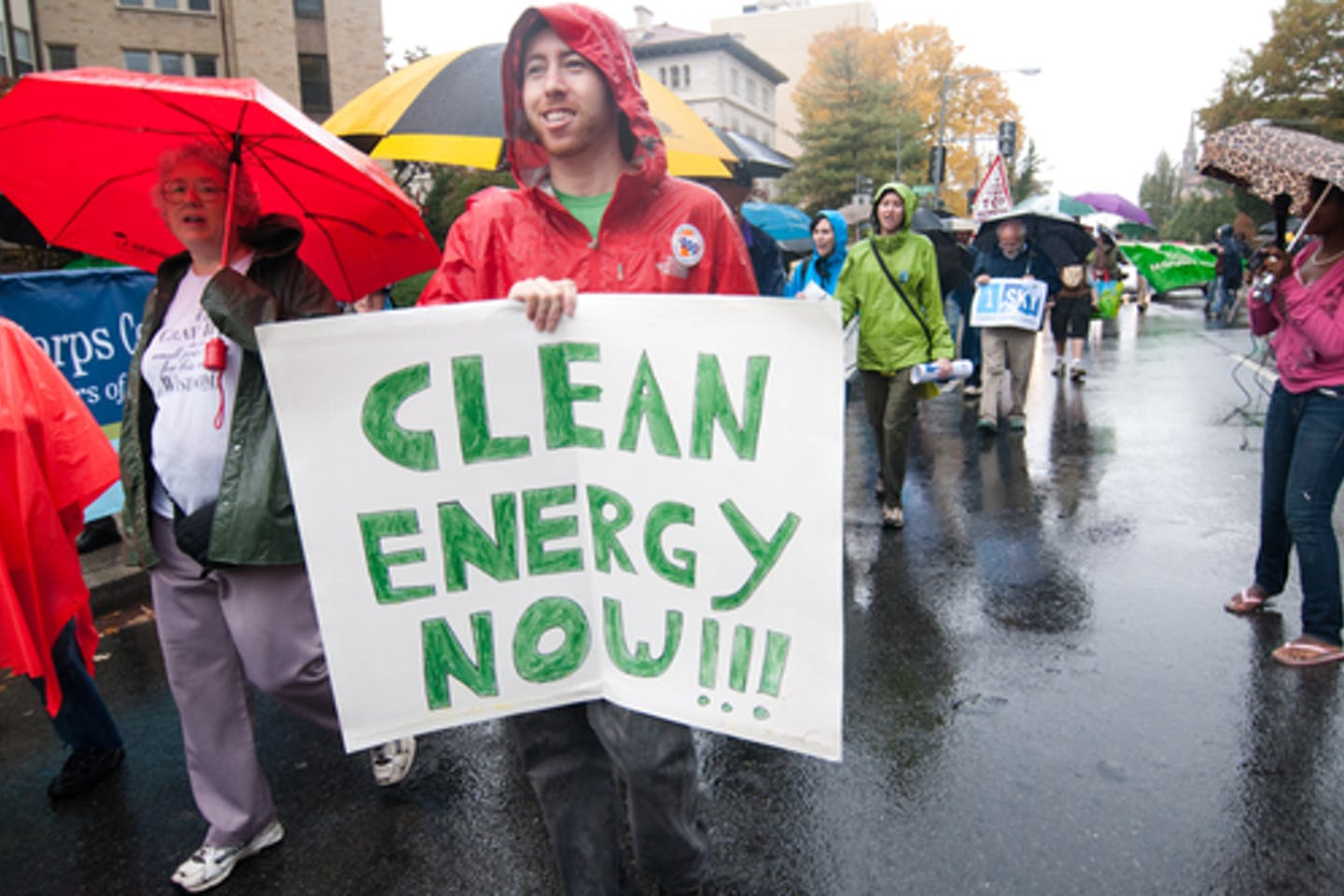 people clean energy
