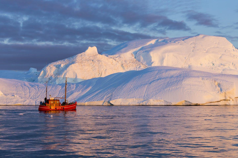 arctic ice cap melt