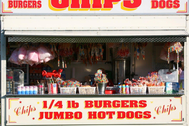 fast food-kiosk