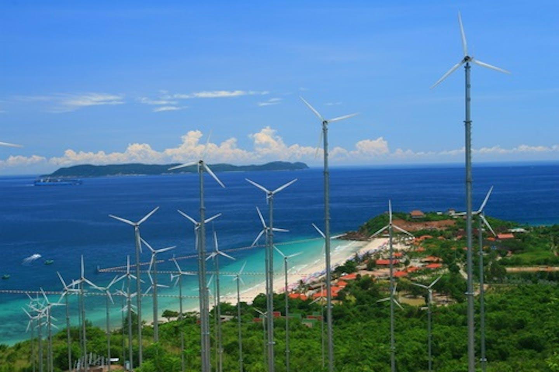 wind island asia