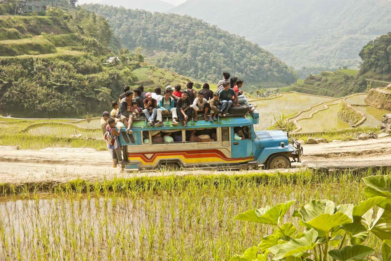 jeepney rural farm