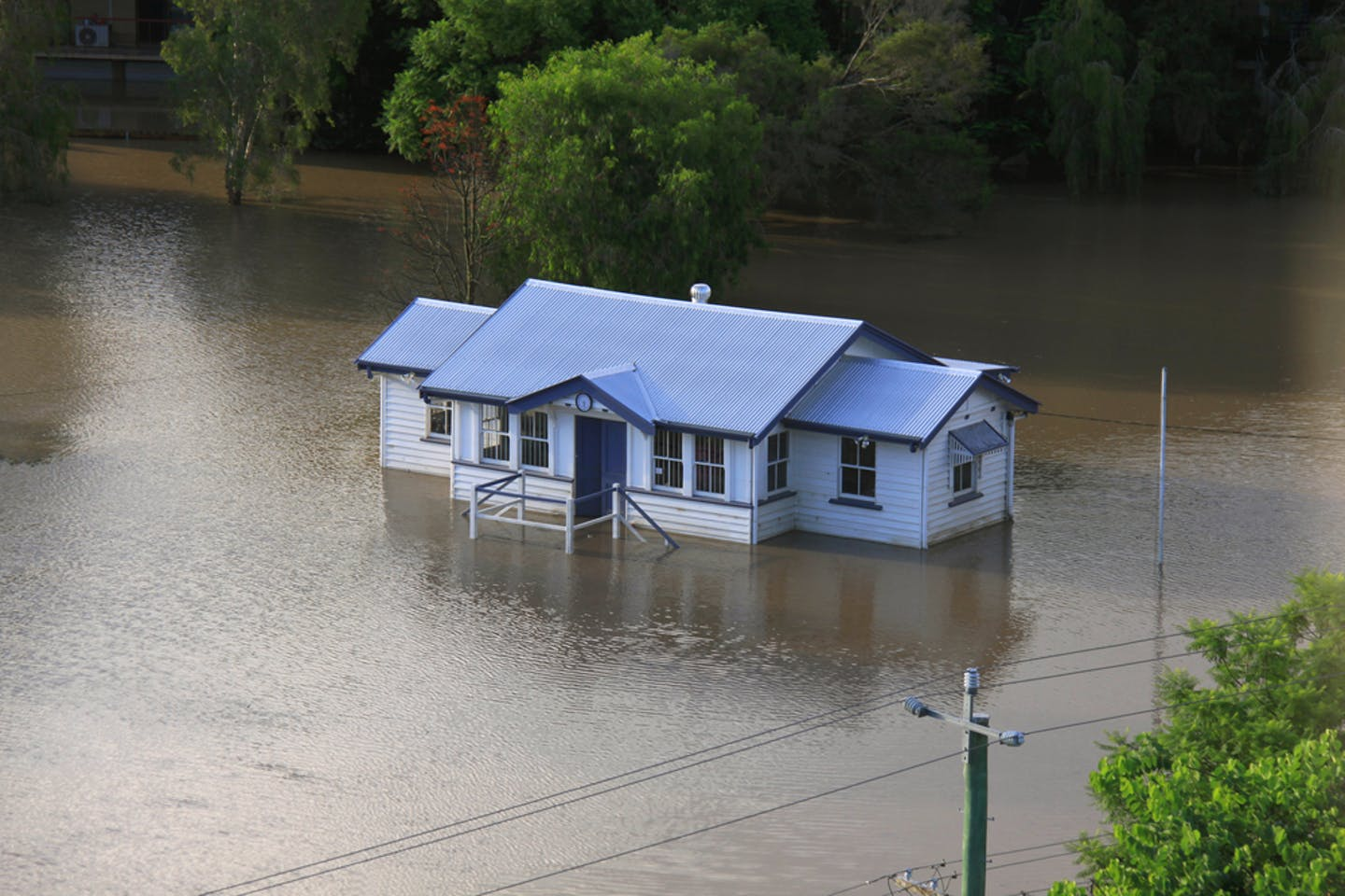 brisbane flood house