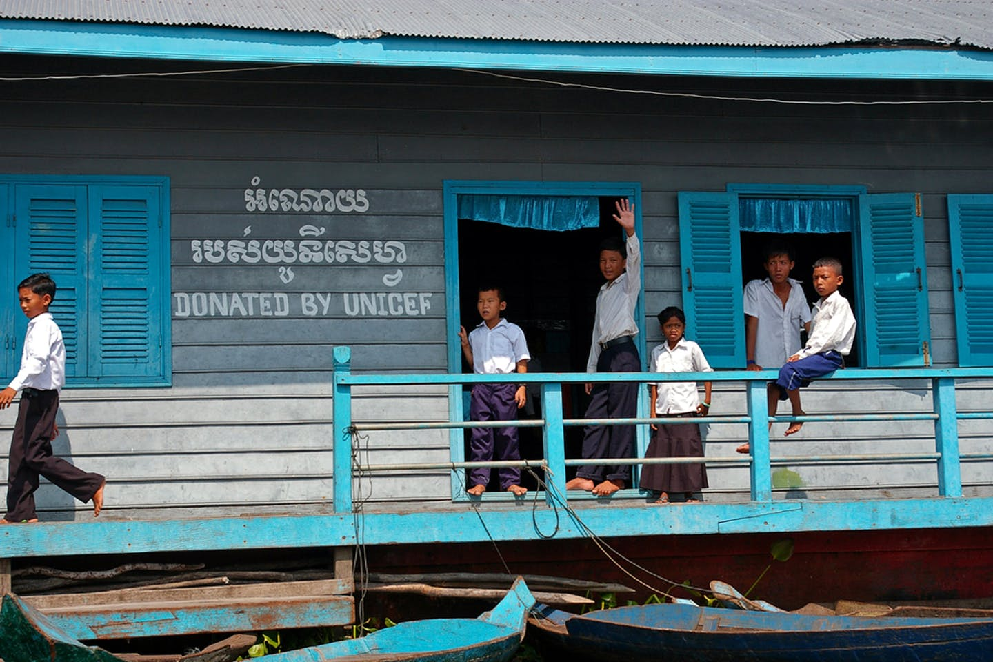 children unicef school
