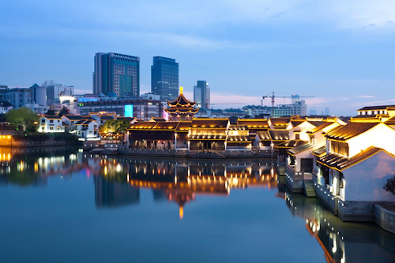 Suzhou city in China