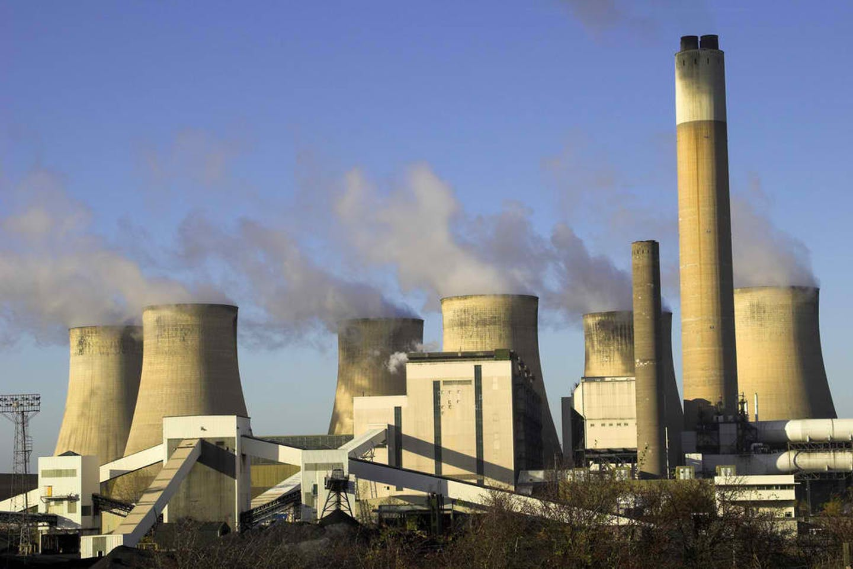coal emissions burning