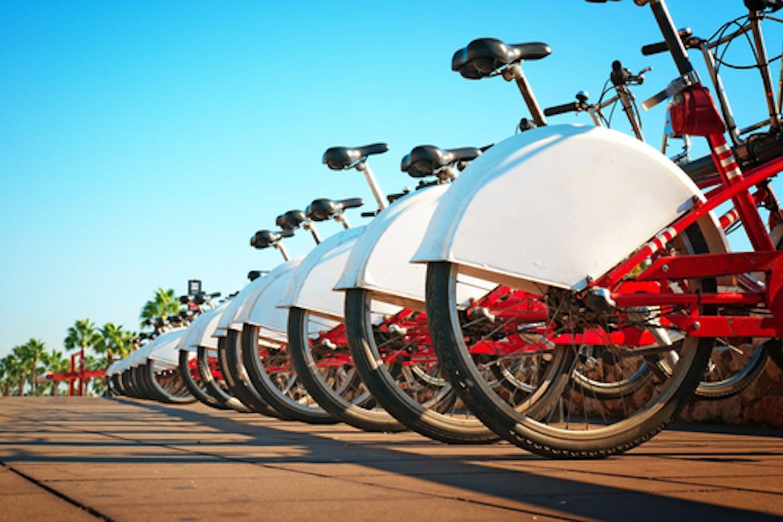 Bikesharing system in Europe