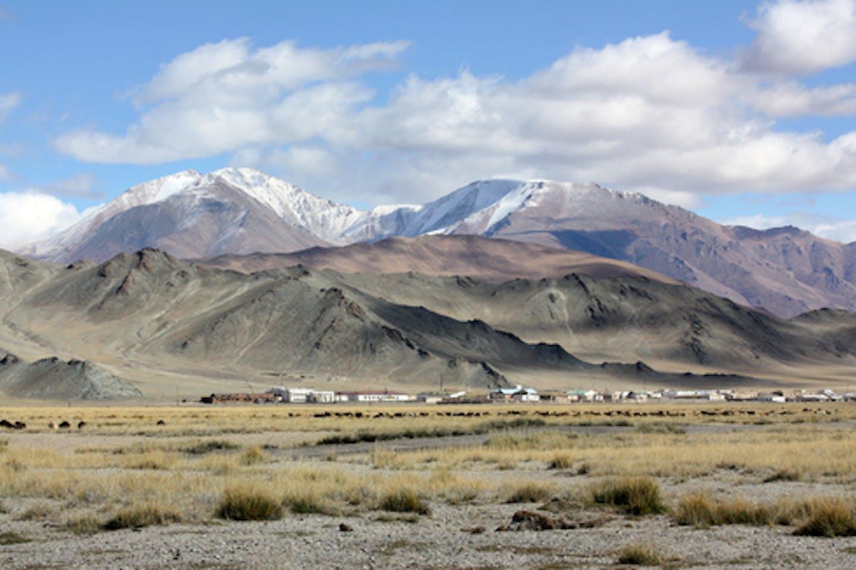 mongolia grassland