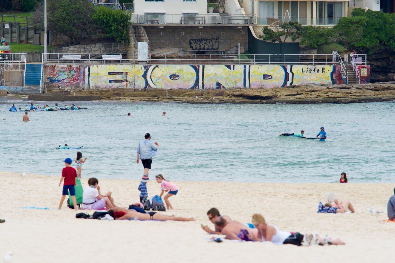 A beach in Sydney