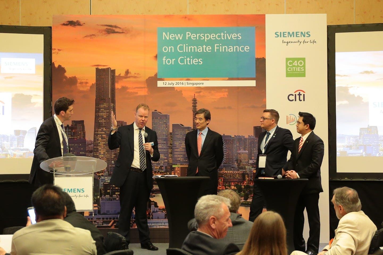 C40 climate finance