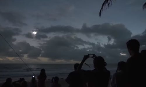 On Mar 9, watch a solar-powered live streaming of a solar eclipse