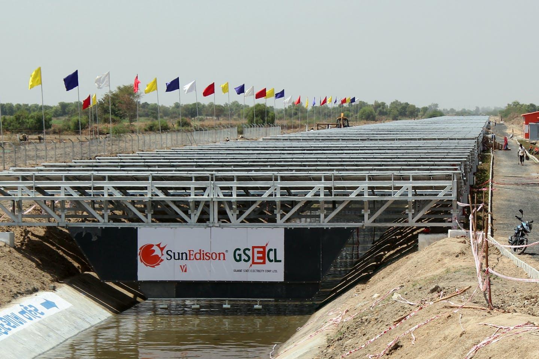 solar canals india