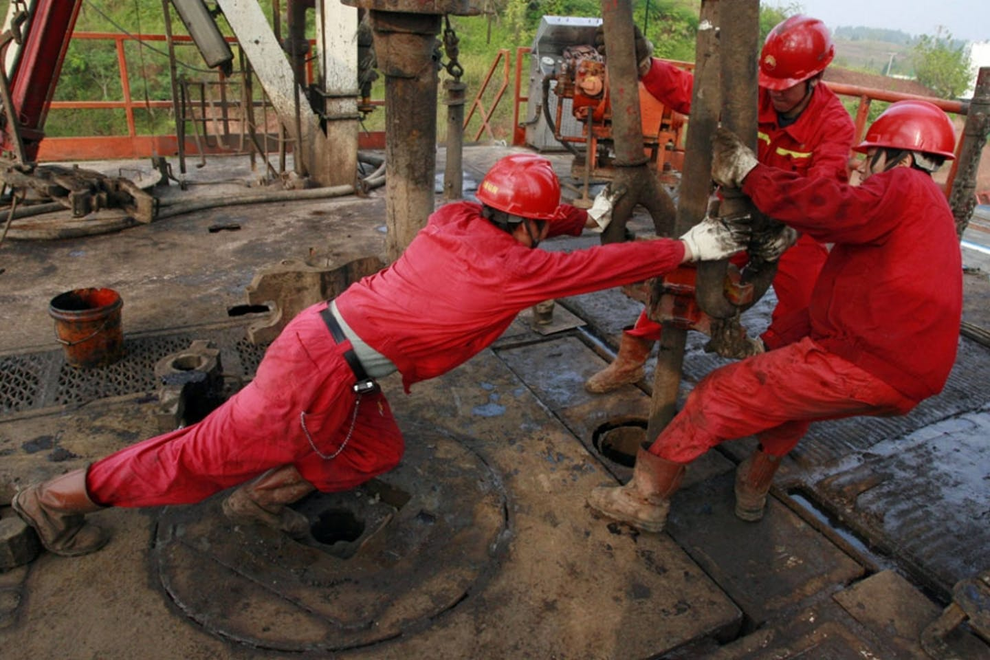 Fracking in Sichuan China