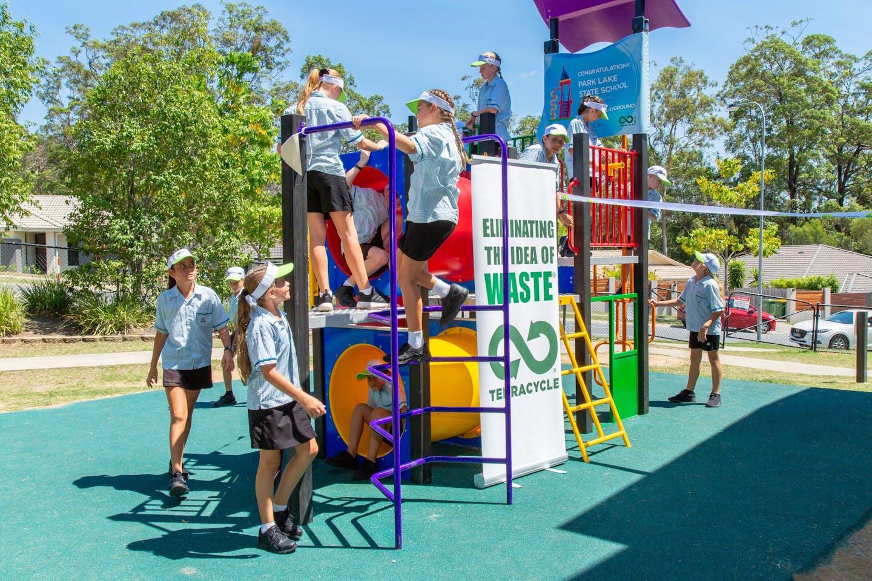 recycled playground