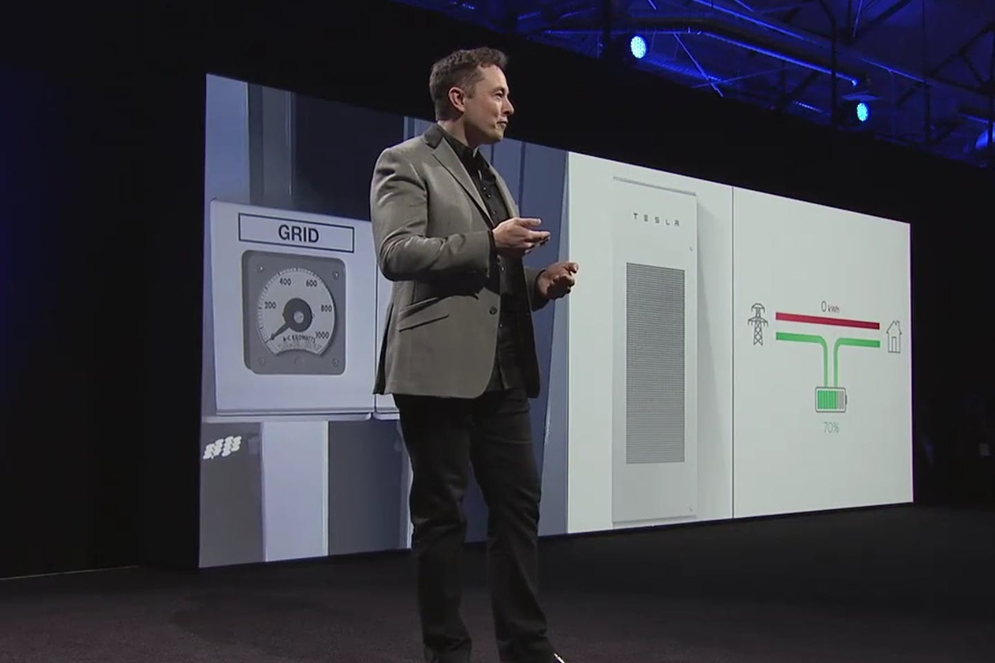 elon musk powerwall launch tesla
