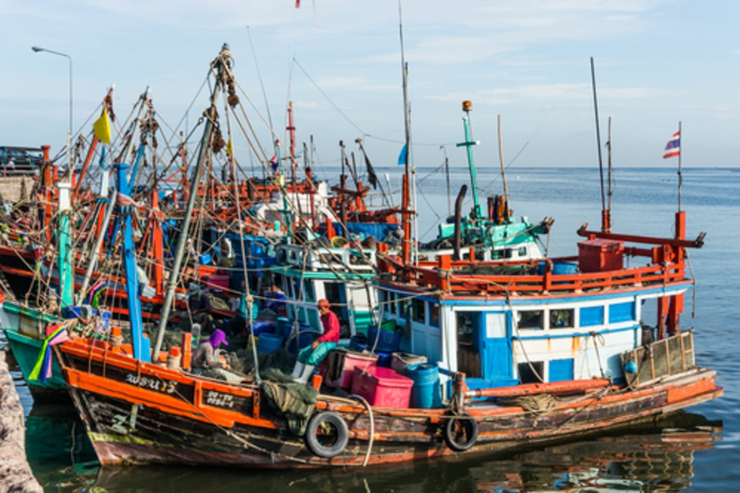 thai fishing industry