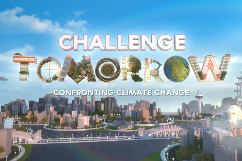 Challenge Tomorrow title frame