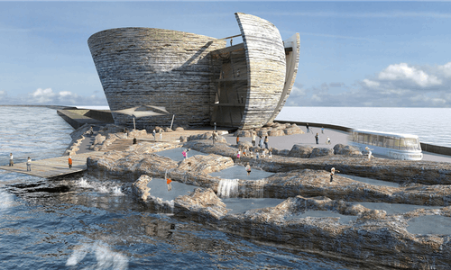 World's first tidal lagoon plant could power 155,000 homes