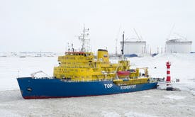 Arctic gas plant threatens native peoples