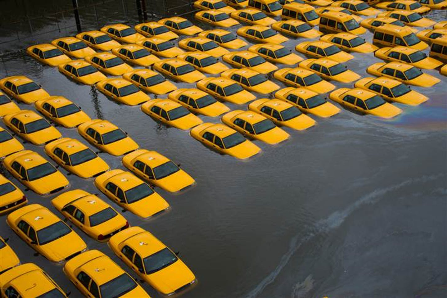 NYC flooded during Sandy