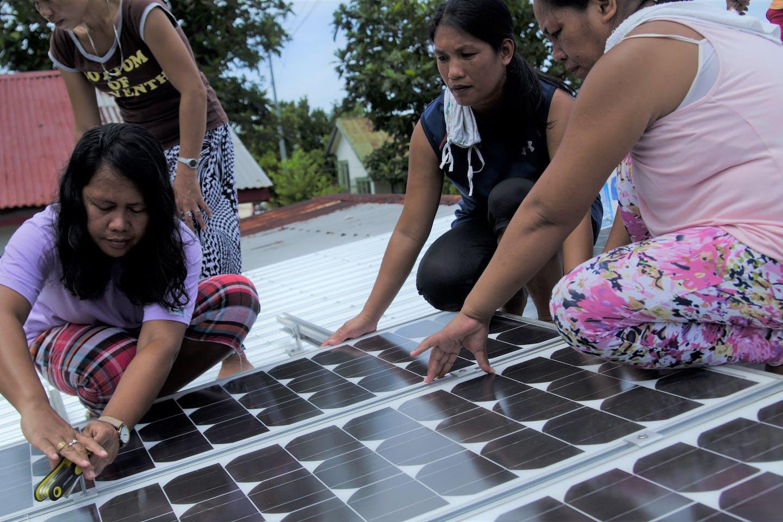 solar rooftop installation in Samar