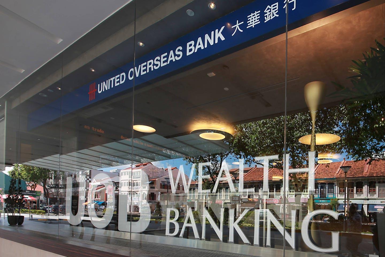 UOB Bank, Singapore's third largest lender