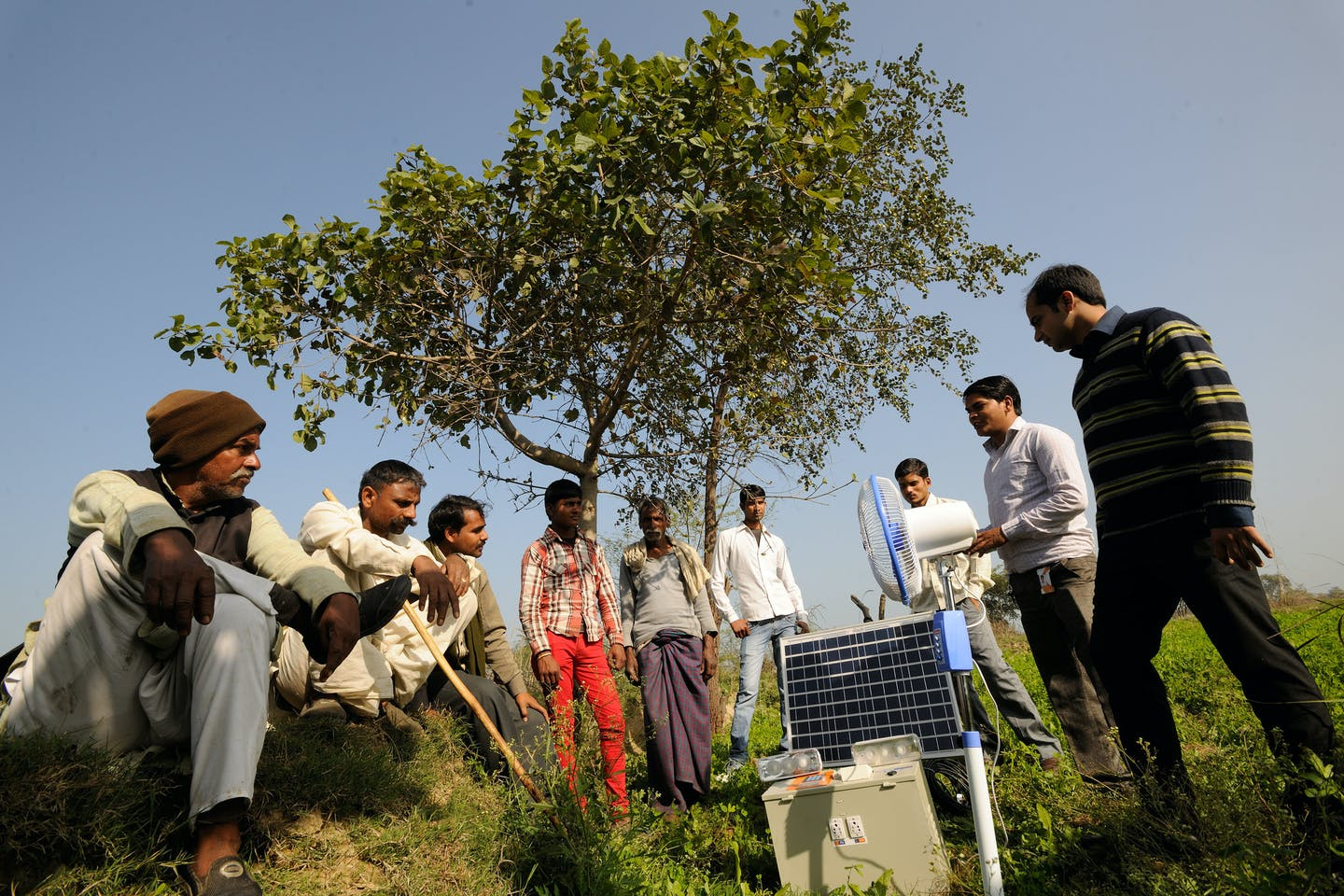 uttar pradesh villagers renewable