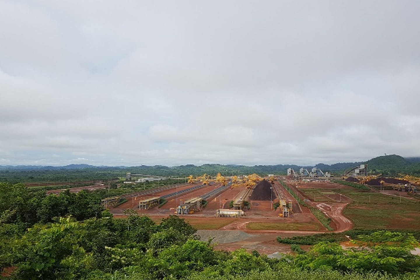A view of S11D mine surrounded by Carajás National Forest