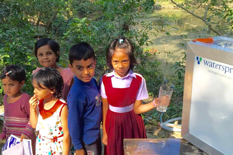 watersprint solar purifier