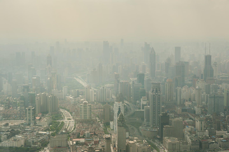 shanghai smoggy