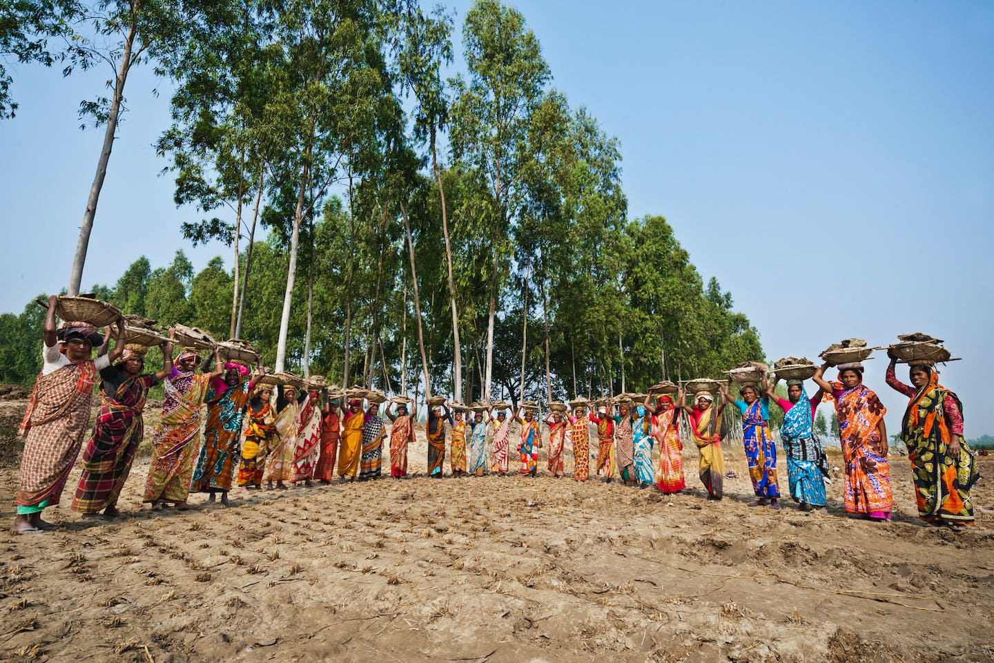 The women of Tongaradha village in Bangladesh