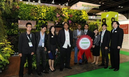 Green building technology on show in Singapore