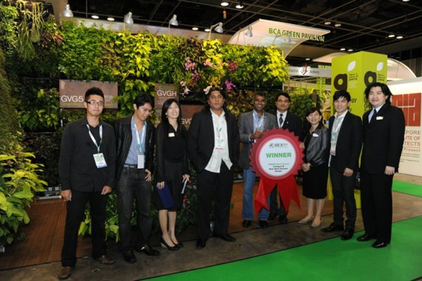 Bex Asia 2011 green building exhibition