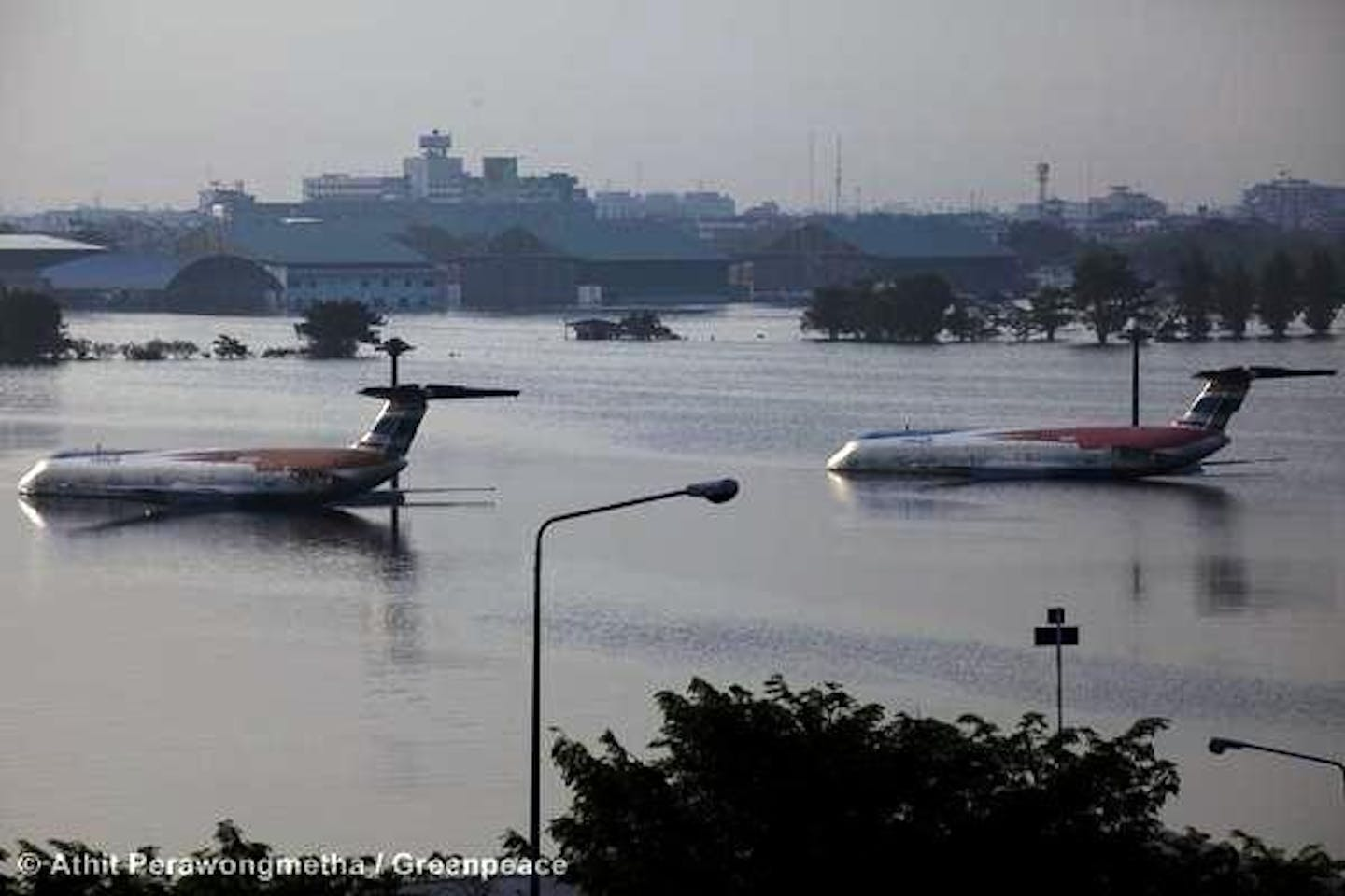 Thailand floods climate change disasters