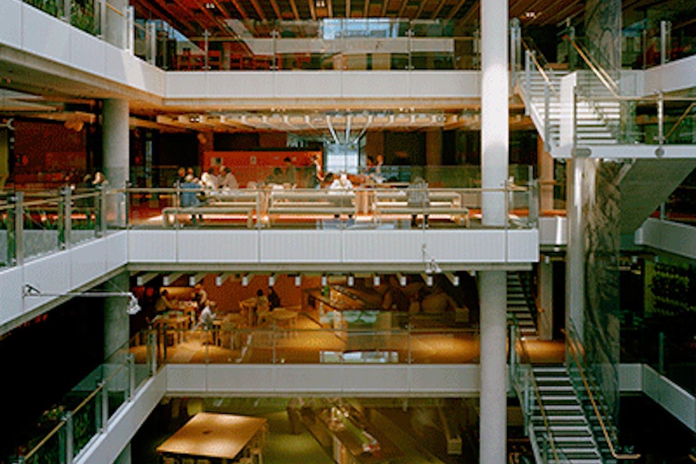 green office building SA Water