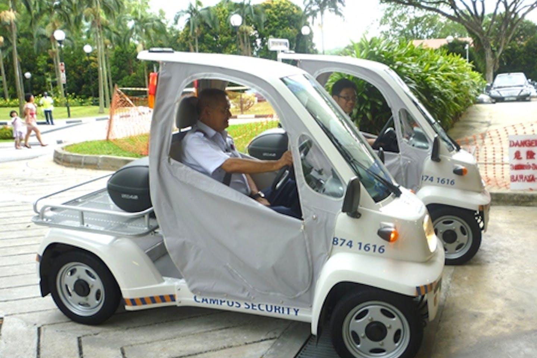 NUS micro electric vehicles