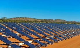 Utility-scale solar proves bankable