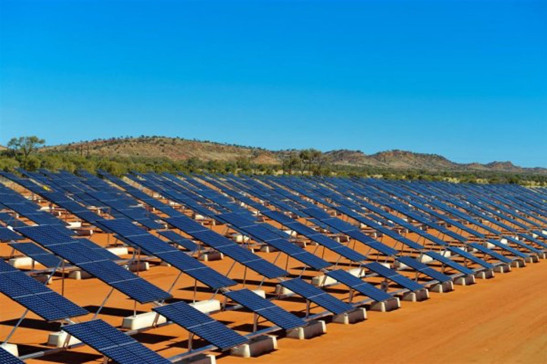 solar tracking Uterne Alice Springs SunPower Corporation
